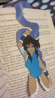 Legend of Korra bookmark - Korra by Enacragus