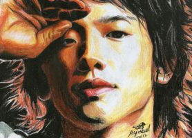 Rain (CRAYON ) done by blueprince312