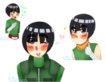 Rock Lee by ThePastelHobbit