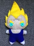 Majin Vegeta Plushie by CheesyHipster