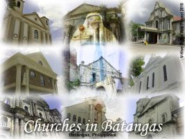 Churches in Batangas Province by vhive