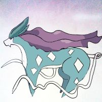 Suicune by MissSashy