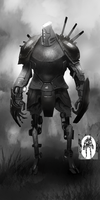 Robot Sketch by Corey-H