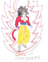 Goku (Dragon Ball GT) SSJ4 by MariovsSonic2008