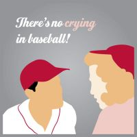 There's no crying in baseball! by KateCollett