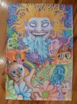 A Psychedelic World by PurpleGumby