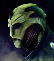 Thane Krios by Dragonborn91