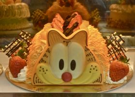 Chinese cat cake by gee231205