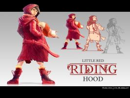 Red-riding-hood-003 by minifong