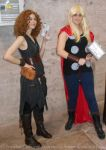River Song cosplay - Meeting Thor by ArwendeLuhtiene