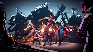 Mann vs Machine aka our Team Fortress 2 group by NIELSPETERDEJONG
