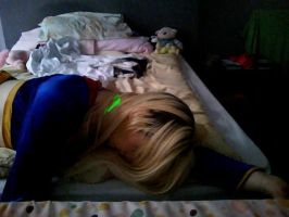 Supergirl Christina makes a faux pas by Wonder-Christina