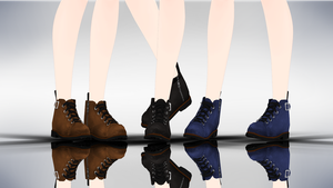 MMD SimpleBoots DL by yokkaulove