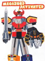 Megazord Activated by Moderately-Radical