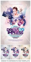 Dress to Impress Flyer PSD Template by EAMejia