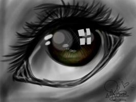 iPad eye thing by PhinabellaPhan