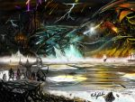 World of Warcraft - Deathwing vs Sindragosa by Partin-Arts