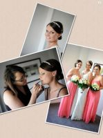 Professional Hair and Makeup Artist Melbourne by bridesbyvanessajane