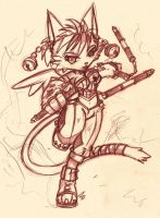 Daena from Legend of Mana by nancher