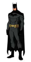 DC:New Earth The Batman Animated by kyomusha