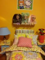 Tangerine Room 2 by Donttouchmykitty