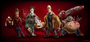 Terror Characters by MookFall