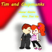 Tim ATC - Never Gonna Give You Up Album Cover by FireFoxOmicron