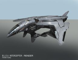 Interceptor Render by frankhong
