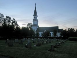 Church and Cemetery by nerapantera