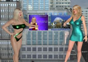 Femforce: Battle for Top Giantess on Prime Time by hotrod5