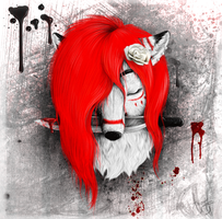 .:Gift:. White blood by ancarie-bluewolf