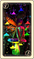SS Tarot - Eight of Lanterns by Cei-Ellem