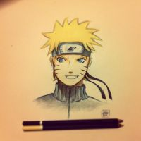 Naruto - pencil fanart by Elimonne