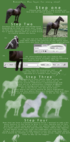 SCS Tutorial - Patronus Horse by Chunga-Stock
