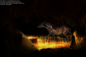 Cave Horse by WhimsicalRuby