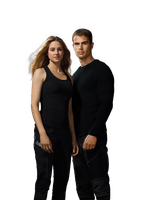 PNG - Shailene Woodley, Theo James (Divergent) by Andie-Mikaelson
