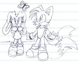 Tails X Cream - Spring by Jen-C