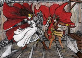 The Paladin and the Assassin by Kiljunator