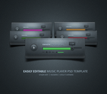 Music Player - Design by cm96
