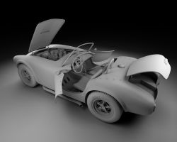 1963 Shelby Cobra 289 WIP view 2 by Vikingheretic