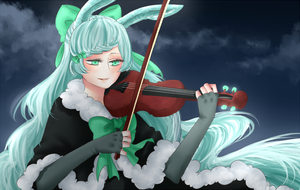 violin by hammie-d