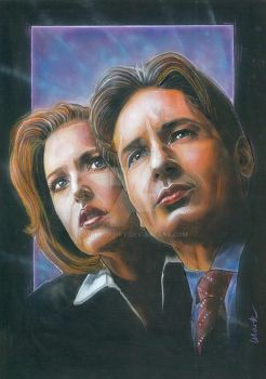 The X Files by Mark-Duffy