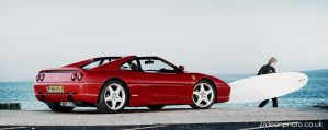 Ferrari F355 GTS wind surfer by dean-photo
