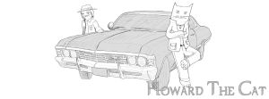 Howard The Cat meets Supernatural by Wormed
