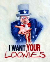 I Want Your Loonies by carts