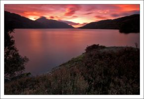 Sunrise over Loch Lomond . by DL-Photography