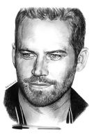 Paul Walker. by RobertoBizama