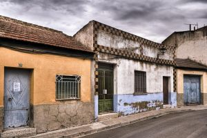 Calle Casas Viejas HDR by SuperStar-Stock
