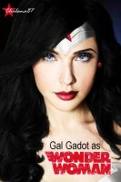 Gal Gadot as Wonder Woman by Chalana87