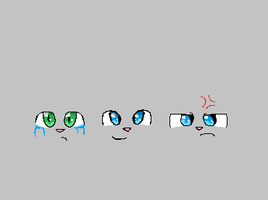 facial expressions practice by Animallover08